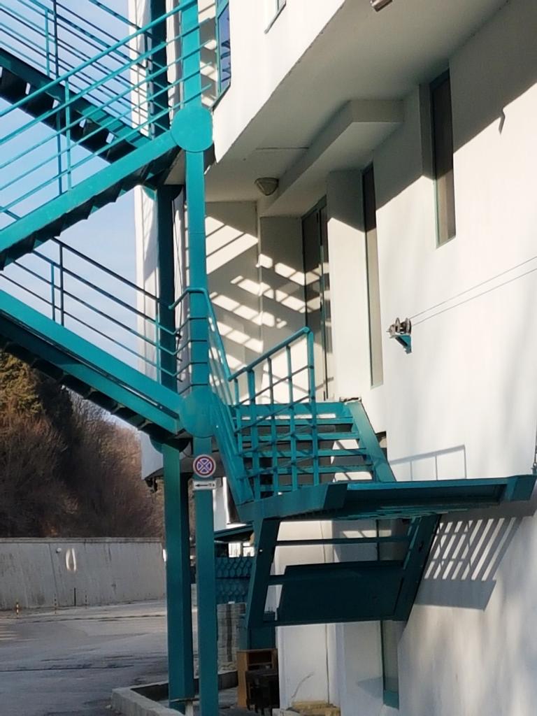 Аварийна стълба на хотел Берлин к.к. Златни пясъци - 2