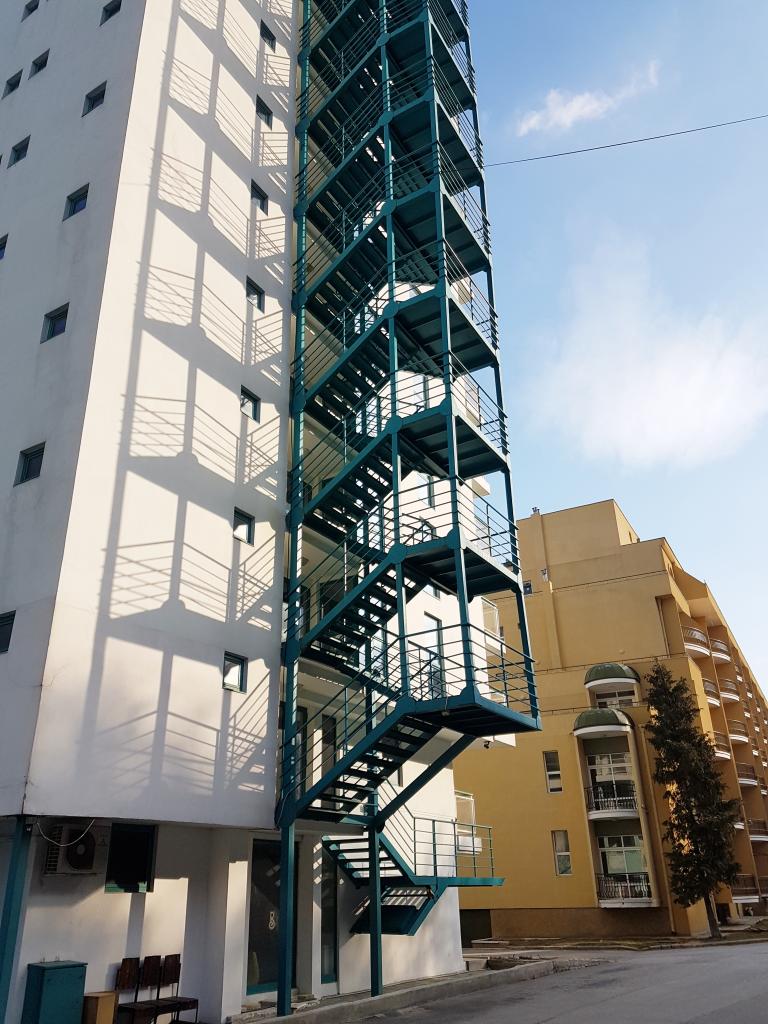 Аварийна стълба на хотел Берлин к.к. Златни пясъци - 4