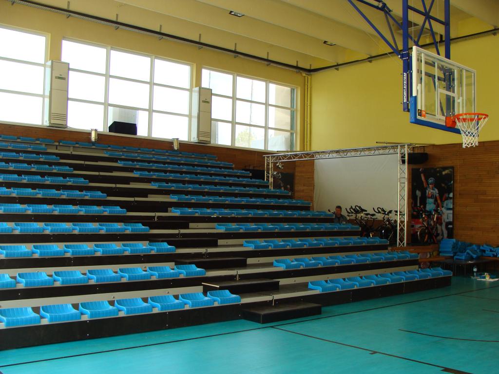 Подвижни трибуни със стоманена конструкция за спортна зала град Добрич - 2
