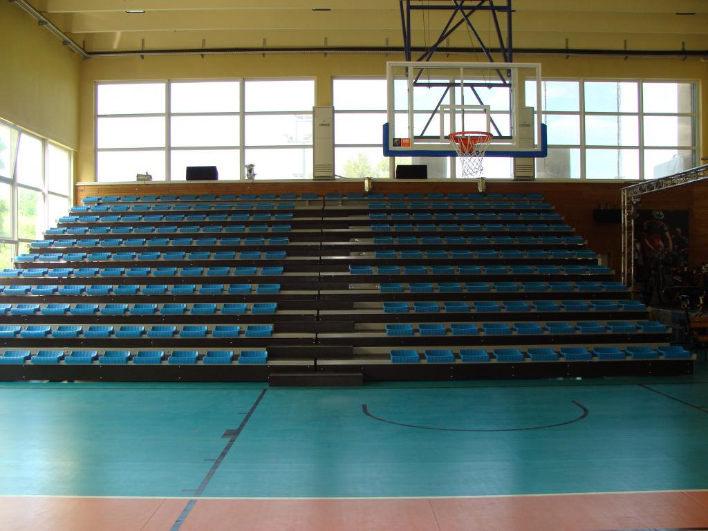 Подвижни трибуни със стоманена конструкция за спортна зала град Добрич - 3