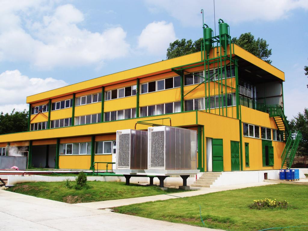 Производствена база на Клас Олио
