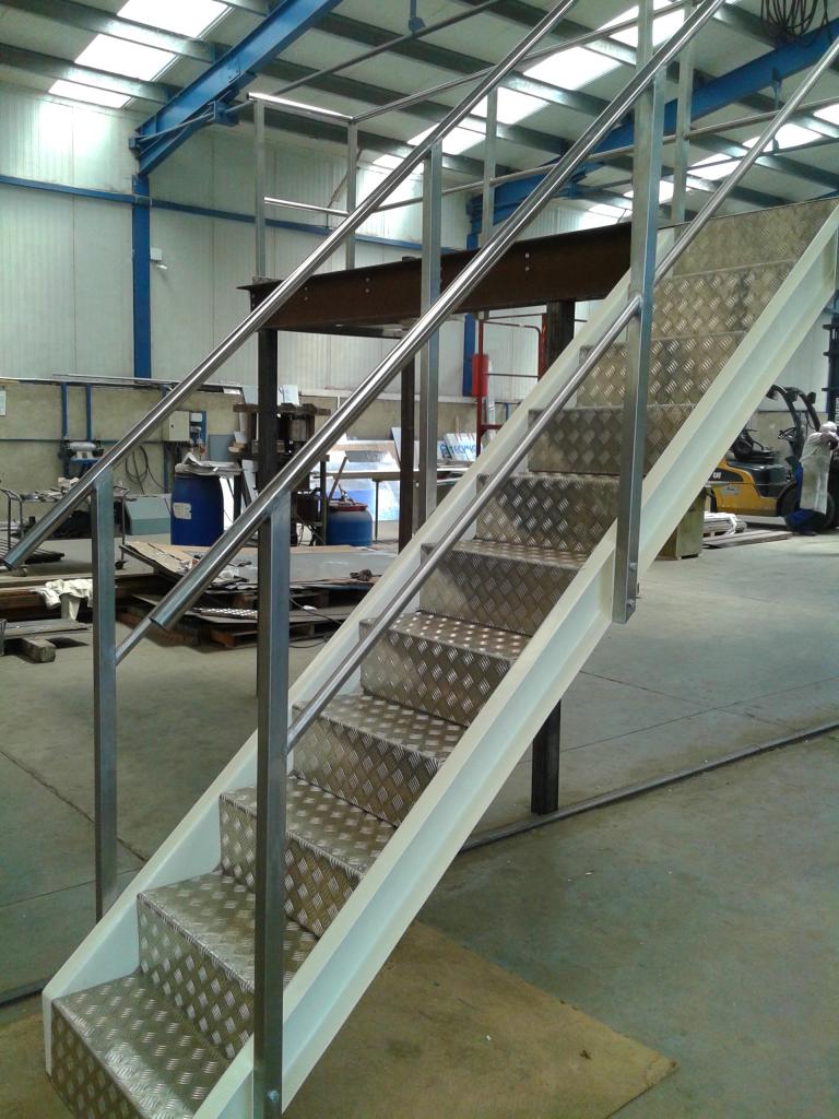 Стоманена стълба за фирма Анселмо Италия - 2